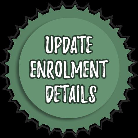 Update enrolment details